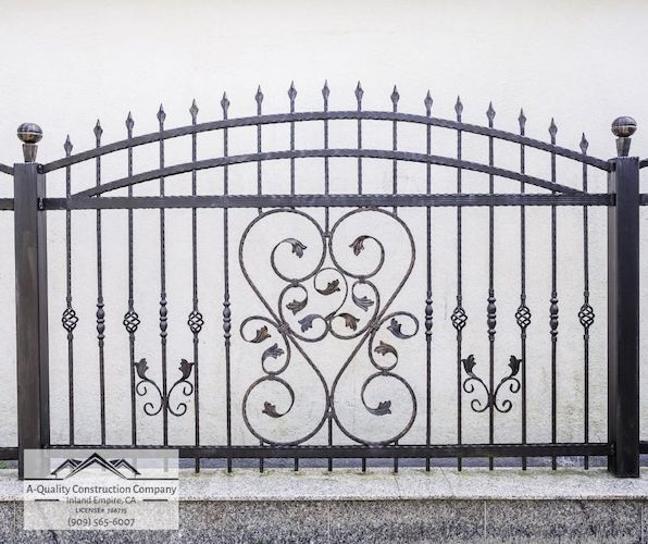wrought-iron-fence-a-quality-construction-company-inland-empire