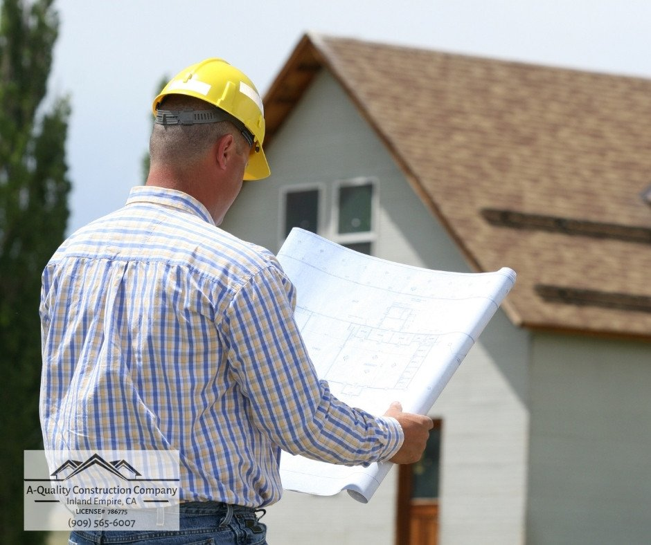 General Contractor Services in the Inland Empire - A-Quality Construction Company in the Inland Empire